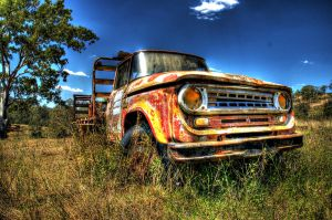 Old Truck HDR by alekazam