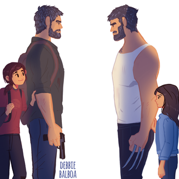 Joel meets Logan by JuanmaWL