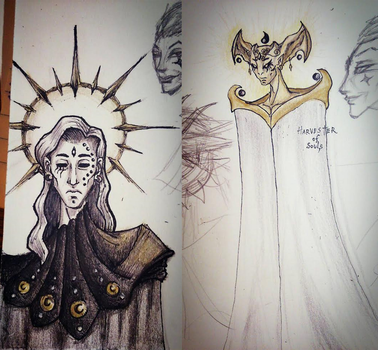 God of Death - OC Sketches by Ma-Edwa24