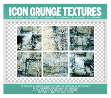 Grunge Icon Textures Pack (100 Watchers) by xcrusnik
