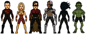 Teen Titans Redesign by Melciah1791