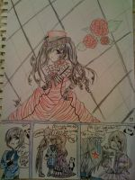 Messing With Ciel 1-BadQuality by AyameKumori