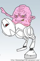 Krang and mouser by Demonology7789