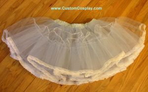 blue two layer petticoat by The-Cute-Storm
