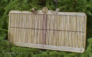 Rigid heddle 55 slats by pagan-art