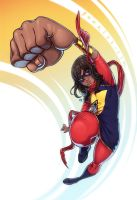 Ms. Marvel Kamala Khan by CamiFortuna