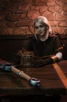 Ciri in Tavern (The Witcher 3 cosplay) by ver1sa