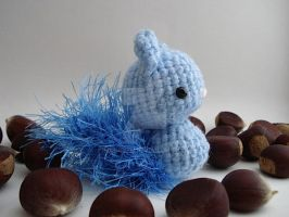 Blue Squirrelie 09 by MoonYen