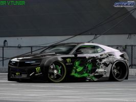 camaro monster energy by Bruno--Design-2009