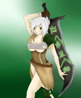 Riven the exile by ResoluteDawn