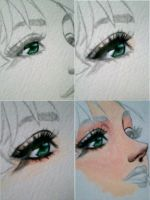 lady aensland water color wip1 by aramismarron