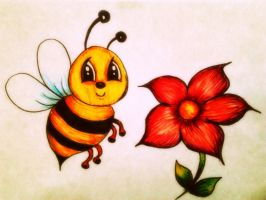 Bee :) by 2softpaws3
