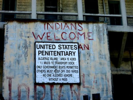 INDIANS WELCOME by DVanDyk