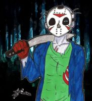 Jason Voorhees by SweetxAriannaxEngel
