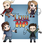 Low HP Chibis by DovahLi