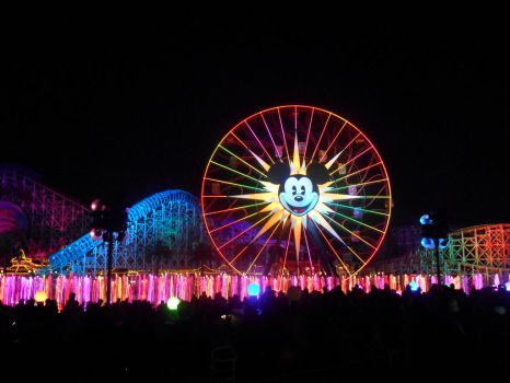 World of Color at Disney's California Adventure by RubyReminiscence