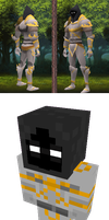 Grim Paladin - My Runescape Skin in Minecraft by thunder-of-light