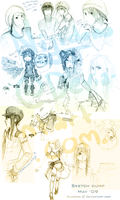 Sketch dump May 09 by Poralizer