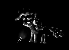 Pinkie Pie in the dark by AndyError