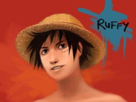 ruffy by Izaskun