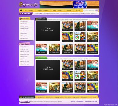 Gameagle Free Wordpress Theme PSD Download! by Ubiwebseo