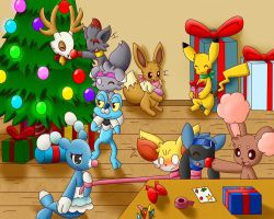 Happy Pokemon Christmas