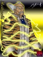 Heihachi Mishima Corporate by TheALVINtaker