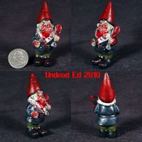 Zombie Gnome with  bloody by Undead-Art