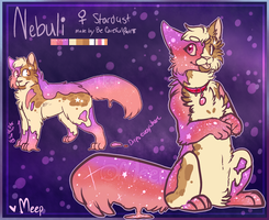 [Stardust Cat] Nebuli by SushiMeep