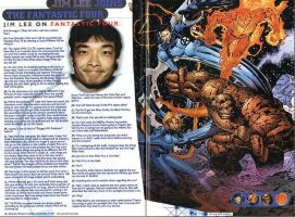 1996 Jim Lee on Fantastic Four by trivto