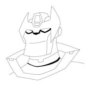 TFA Rodimus Magnus Lineart by Destron23