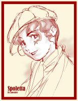 Spoletta Quick Sketch by AlexandreLancaster