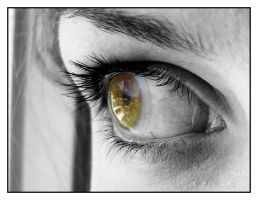 The World In Her Eyes I by augenblicke