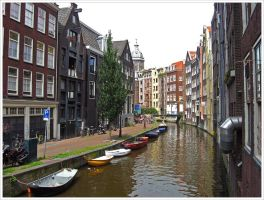 Streets of Amsterdam IV by Andrei-Joldos