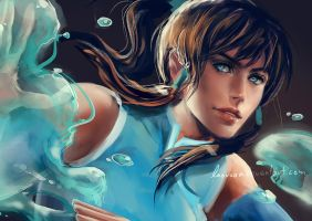 Korra - Comic-Con Fan Art Contest by Laovaan