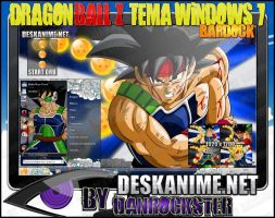 Bardock Tema Windows 7 by Danrockster
