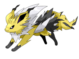 MegaJolteon by ChrisJ-Alejo