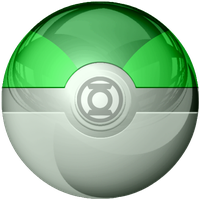 Green Lantern Pokeball Request by KalEl7