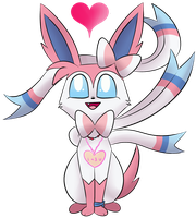 Sylveon by X-BlackPearl-X