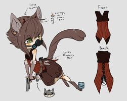 Steampunk Cat Adopt (closed) by LunarAdopts