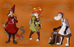 Steam Punk Moomins - Exploration Team by Genolover