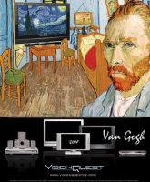 Van_Gogh_Plasma TV Ad by vasart