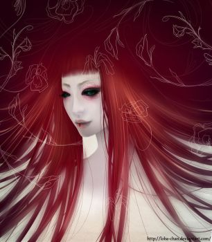 Drowning in fragances by loba-chan