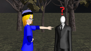 Slender is funny to Jon? by Shake666Productions