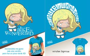 .: alice on tee :. by monito