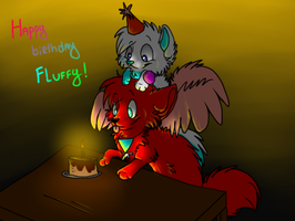 Happy Birthday Fluffy! by Cibibot