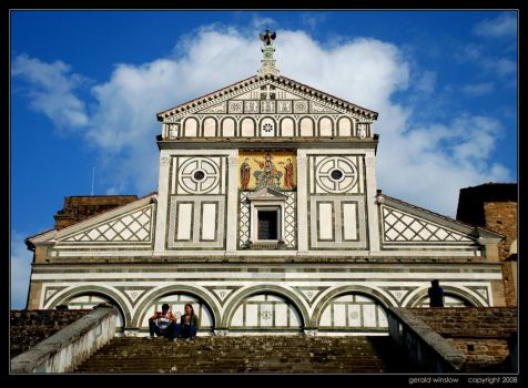 Lovers at San Miniato by GeraldWinslow