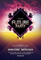 Future Party Flyer by styleWish