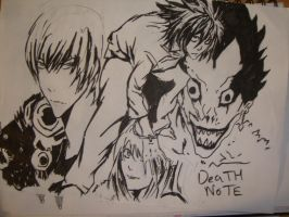 Death Note blah by Ayaake