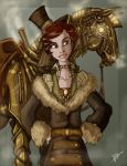 Steampunk Rider by Sio64